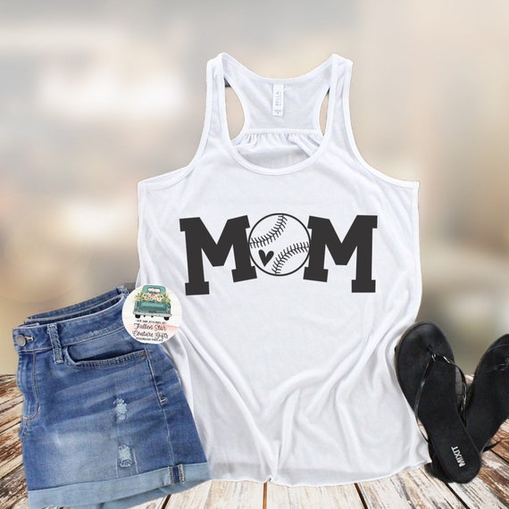 Baseball Mom Shirts, Baseball Tee, Mom Shirt, Baseball Mom V Neck, Cooperstown, Little League , Travel Baseball, Mom