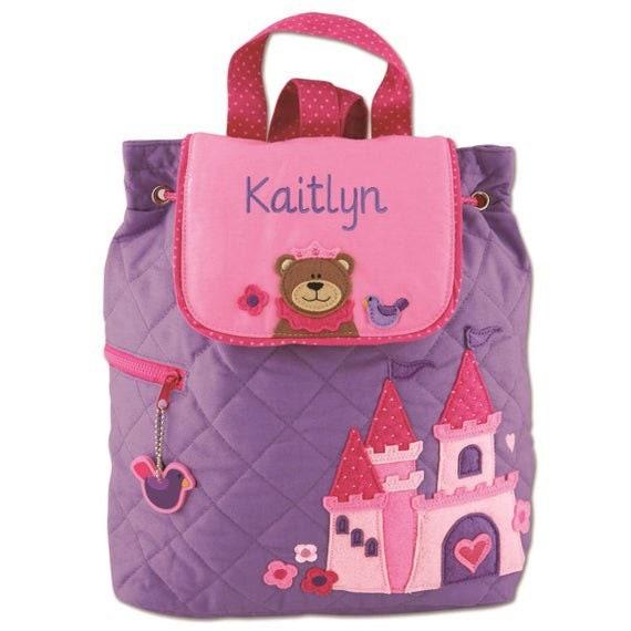 Clearance Princess backpack , toddler back back , toy bag , preschool backpack , stephen joseph backpack , personalized kids bag