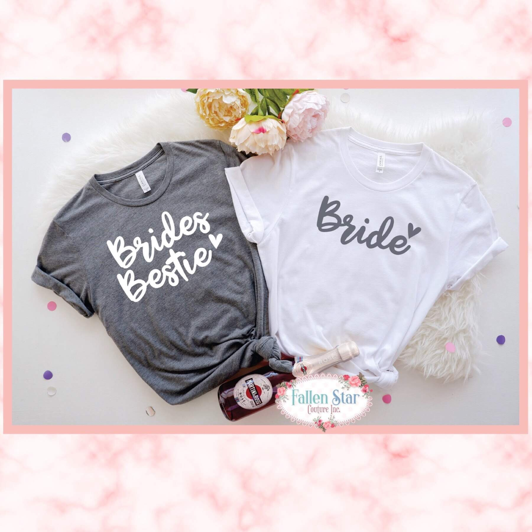 da9643cabe3d Bridesmaid Shirt, Bridesmaid Proposal, Maid of Honor Shirt, Bride ...