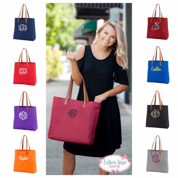 Monogrammed Tote, Personalized Tote , Game Day Tote, Football Tote ,Tailgating Tote, School Spirit, College Football Tailgating