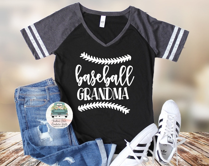 Baseball Grandma Shirts, Baseball Grandma  ,Baseball Shirt, Baseball Shirts, Grandma  Shirt, Grandma Shirt