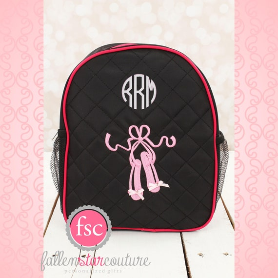 BALLET dance bag, ballerina bag, ballerina shoe bag, girls dance bag, ballet class bag, ballet slippers bag