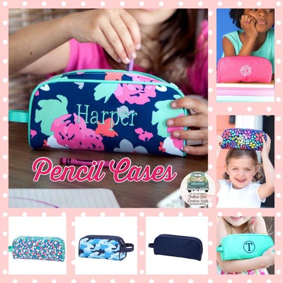 CLEARANCE Kids Pencil Case, Pencil Pouch , Pencil Holder, Kindergarten Pencil Bag  , Pencil Bag , Preschool  School Supplies