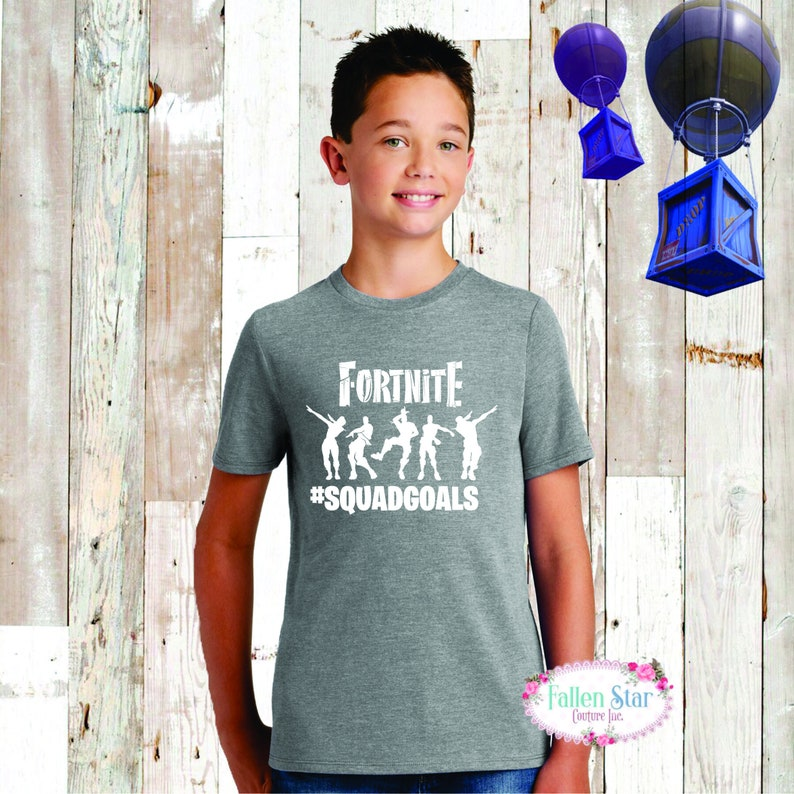 47ccdba00 Fortnite Tee Fortnite Shirt Fortnite Birthday Fortnite | Etsy