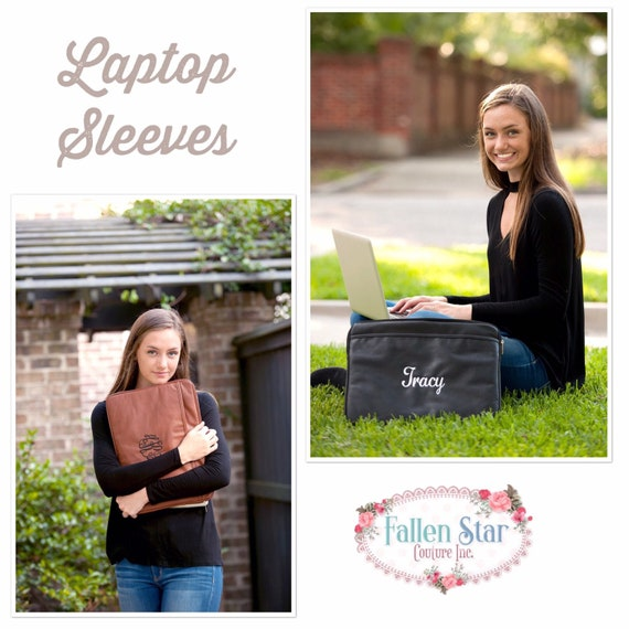 Computer Bag, Personalized Laptop Sleeve , Monogrammed Laptop Case , Computer Bag, College Gifts,  Gifts for Her