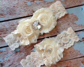 Wedding Garter, Bridal Garter , Lace Garter , Wedding Garter Set, Garter, Something Blue, Vintage Garter, Rhinestone Garter , Toss Garter