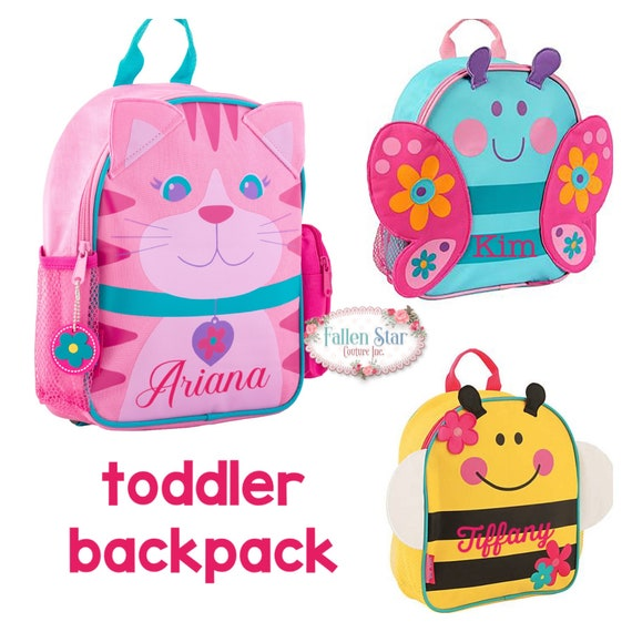 Clearance Personalized Toddler Backpack ,Toy Bag , Kids Backpack ,Preschool backpack ,Stephen Joseph Backpack, Personalized Kids Bag ,MINI