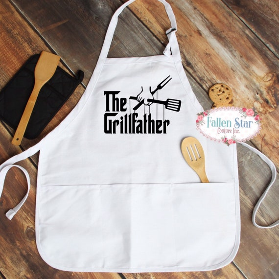 Father's Day aprons, gift for dad, Father's Day gift, barbecue apron, grill father, king of the barbecue, dad gifts, gifts for daddy