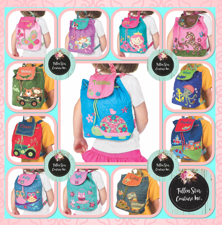 Kids backpack , toddler back back , toy bag