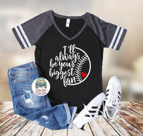 Baseball Mom Shirts, Baseball Mom ,Baseball Shirt, Baseball Shirts, Mom Shirt, Mom Shirt, Baseball Mom , Ill Always Be Your Biggest Fan