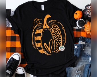 Pumpkin Shirt, Halloween Tee, Distressed Pumpkin Shirt, Ladies Halloween Tee, Cheap Tees , Girls Pumpkin T Shirt , Unisex Tee