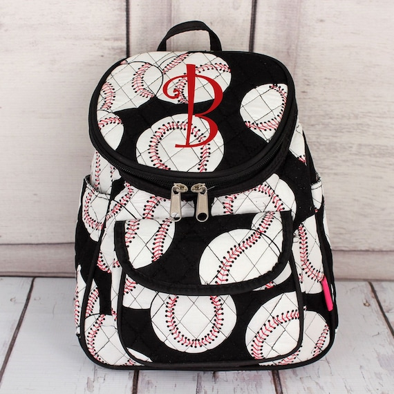 Personalized MINI Baseball Backpack || Baseball Mom Bag || Sports Backpack || Monogrammed Baseball Backpack || Baseball Mom Gift