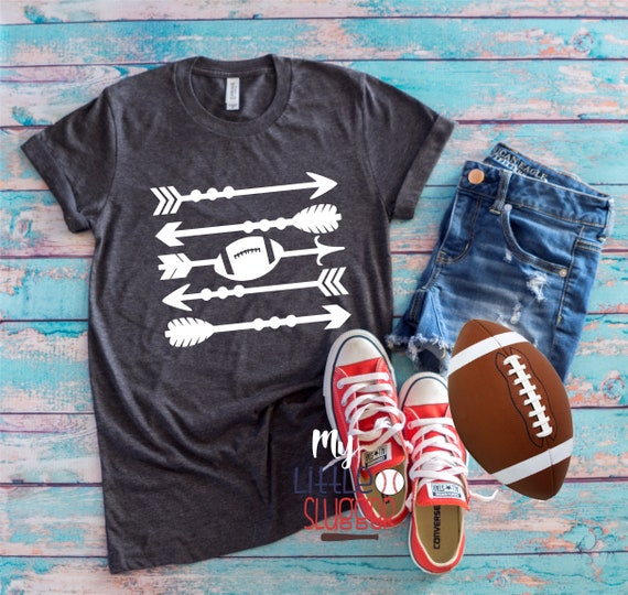Football arrow shirt, football mom shirt, football mom tank, football mom hoodie, gifts for football moms, football season