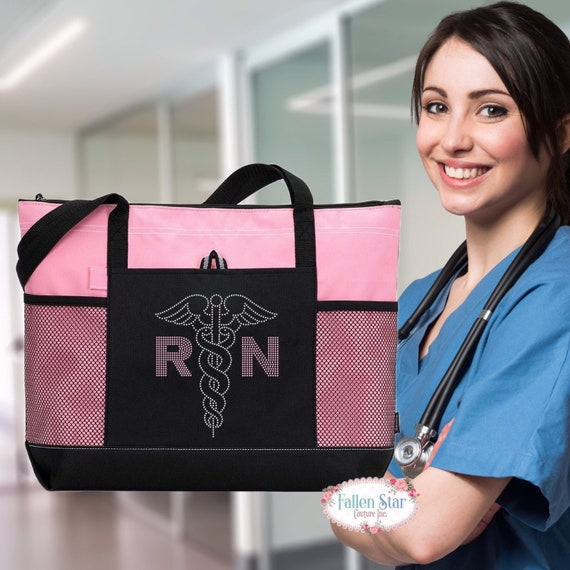 RN Nurse Tote Bag ,Nurse Gift ,Stethescope Tote , Nurse Tote Personalized , Nurse Gift Ideas, Nurse Gift Bag