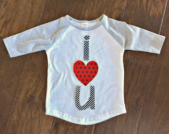 I Love Mom Heart Tattoo Shirt Custom Size Shirt Color Sleeve Etsy