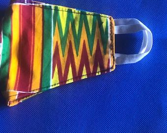 Ankara,African Face Mask Free shipping