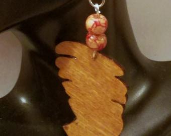 African Queen Wood Earrings, Africa Wood Earrings,Queen Nefertiti Earrings, Natural Hair Earrings