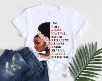 I Am A Black Woman T Shirt Free Shipping ,Nubian Sensations