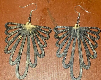 Afrocentric Wood Earrings