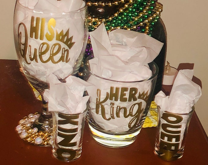 Featured listing image: Her king ,His Queen Couple Gift Boxes