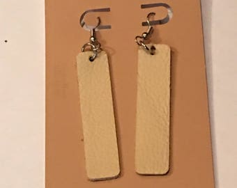Afrocentric Leather  Earrings