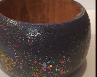 Hand Painted Bangle Bracelet ,African Accessories
