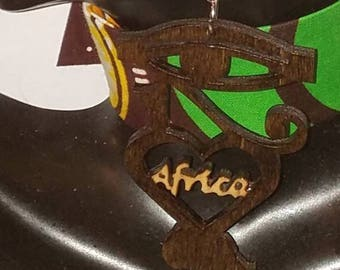 Afrocentric Africa Earrings