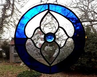 Cobalt Blue Victorian hanger