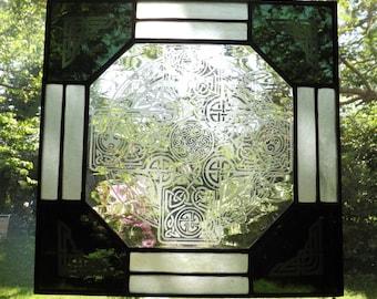 Etched Celtic Cross Panel B