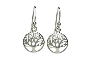 Sterling Silver Tree of Life Earrings - Tree of Life Earrings