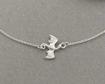 Sterling Silver Dragon Necklace