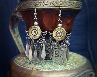 Danica Bullet Jewelry Bullet Earrings 45 Auto Bohemian Bullet Warrior Guardian Collection
