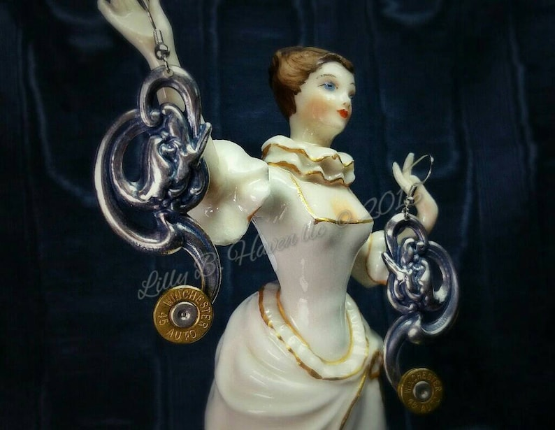 Ariadne Bullet Jewelry Bullet Earrings Mythos Collection Lilly image 0