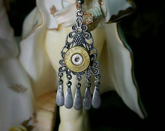 Darva Bullet Jewelry Bullet Earrings 45 ACP Bohemian Bullet Warrior Guardian Collection