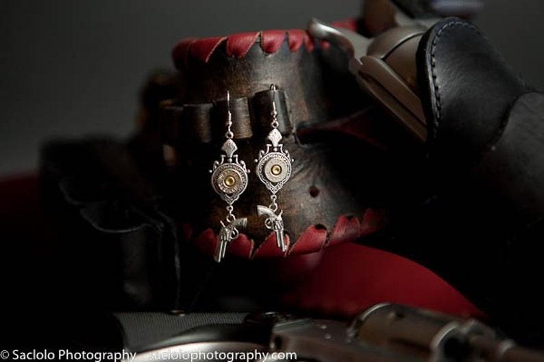 Oakley Bullet Earrings with Revolvers Bullet Earrings Bullet image 0