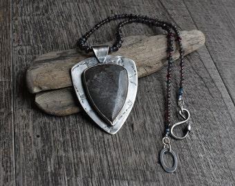 Sonora Dendritic Jasper Stone set in Sterling Silver