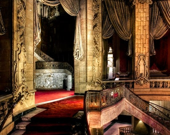 """Neglected Beauty, Fine Art, Chicago Architectural surreal color photography """"Elegance"""""""