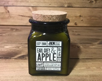 Earl Grey & Apple Soy Candle - Ampersand Collection