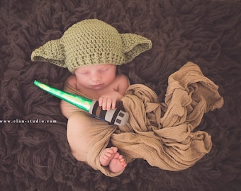 Star Wars Baby Yoda Hat Preemie Newborn 0 3m 6m Crochet Photo Prop Baby Girls Boys Clothes Gender Neutral Dad Fathers Day Gift So Cute