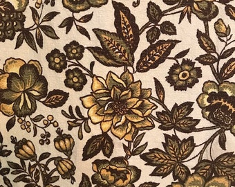 Vintage Fabric By House \u2018N Home Dated 1980 #M4150