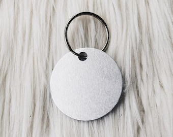 customize your own silver tag