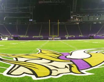 Field View of MN Vikings US Bank Stadium - Fine Art Print