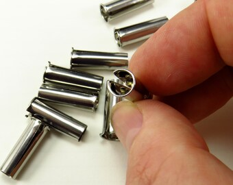 Rust resistant Stainless steel nib insert - dip pen ferrule - fountain pen nib ferrule for calligraphy nibs - metal insert globus holder