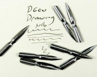 General drawing nibs  - Leonardt drawing nib DPGEN nib - modern calligraphy nibs - pen holder nibs foutain pen nibs - Arabic calligraphy nib