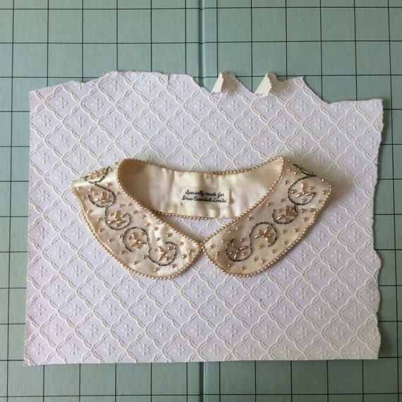 Beaded Peter Pan Collar