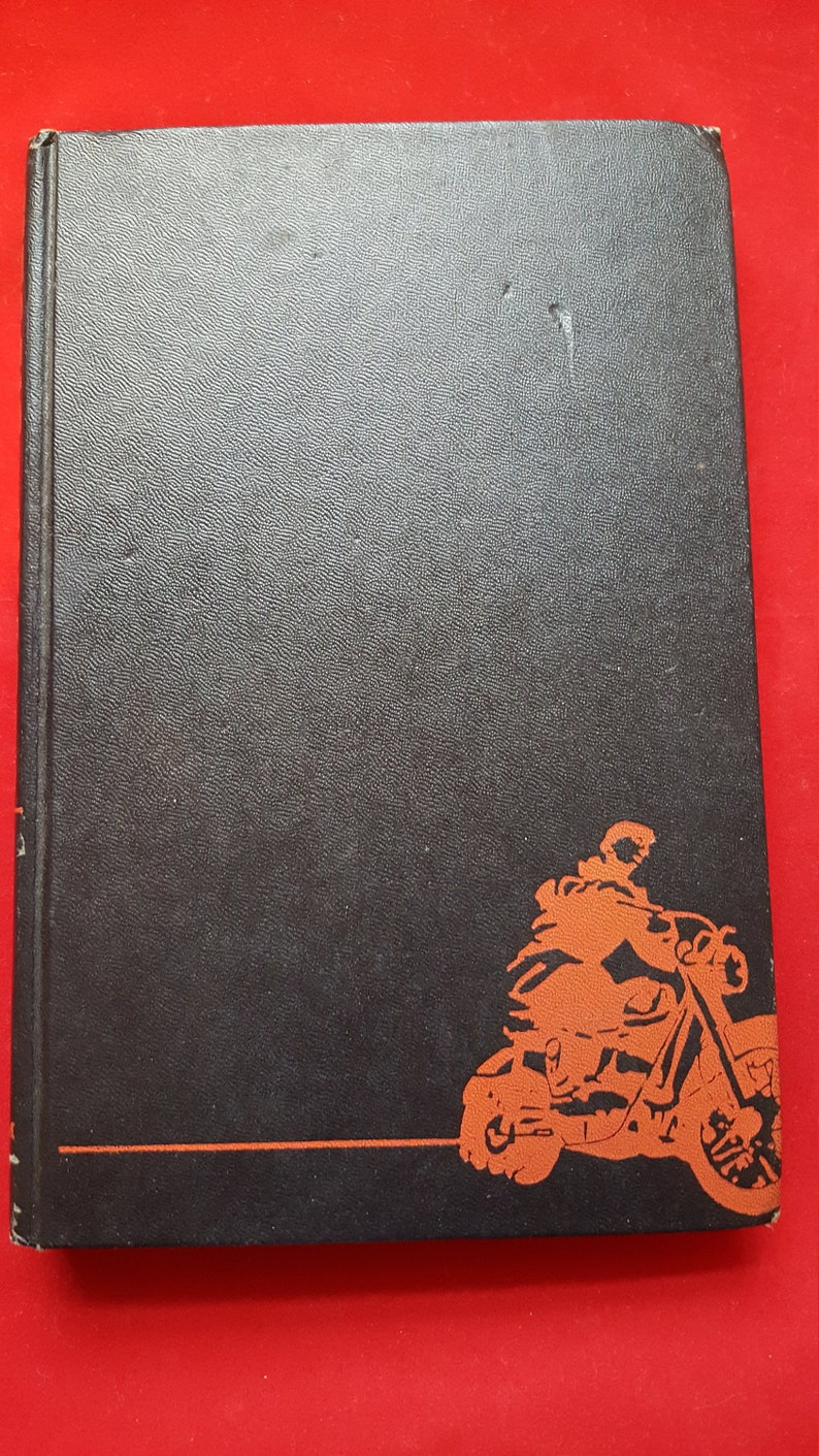 SALE Vintage Hells Angels A Strange and Terrible Saga By Hunter S  Thompson  1967 Book Club Edition