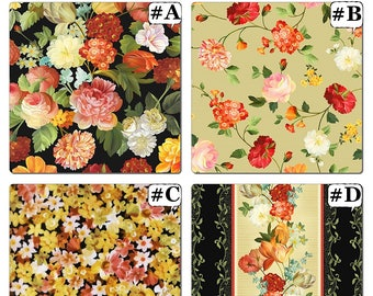 "Quilting Treasures / Ivy Lane ""Les Fleurs"" Floral  Fabric Collection (Select)"