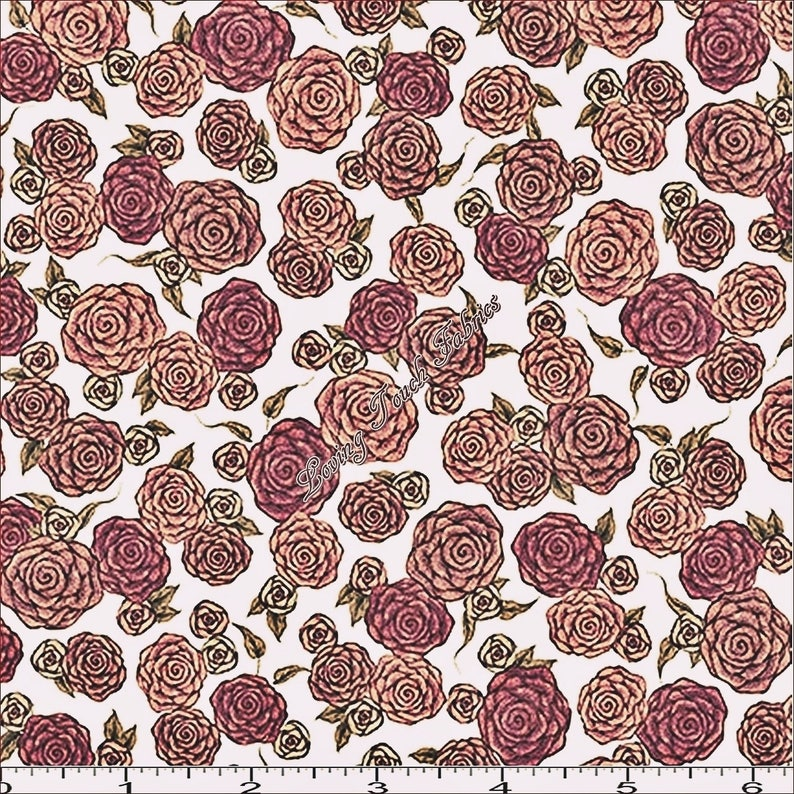 Love Santoro Treasures 25848 Quilting Fabricsélect For Taille All Roses Z Mirabelle cAL5SRj34q