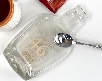 Makers Mark 46 Flattened Bottle Spoon Rest, Bourbon Lover Gift, Whiskey, Kentucky