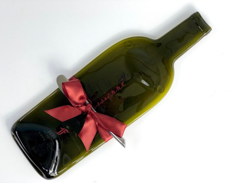 Melted Bottle Cheese Tray Fleury Estate Winery Passionne Napa image 0